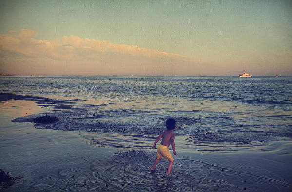 Santa Cruz Art Print featuring the photograph To Be Young by Laurie Search