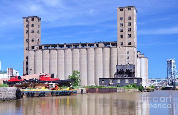 Grain Art Print featuring the photograph Tour Down Buffalo River by Kathleen Struckle