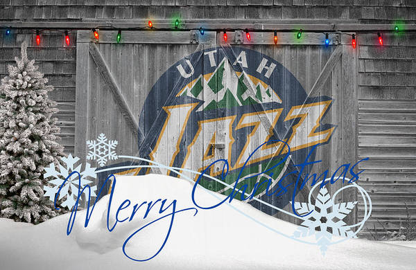 Jazz Art Print featuring the photograph Utah Jazz by Joe Hamilton