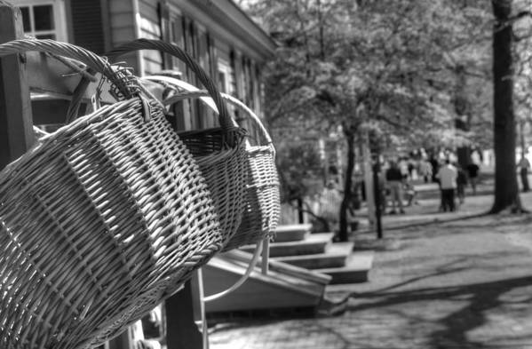 Williamsburg Art Print featuring the photograph Weaving The Past by Greg and Chrystal Mimbs
