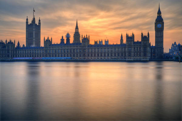London Art Print featuring the photograph Westminster Nights by Matthew Gibson
