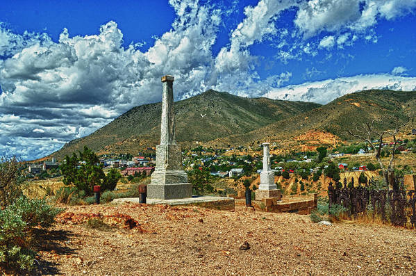 Art Photography Art Print featuring the photograph Boot Hill by Franklin Jeffers