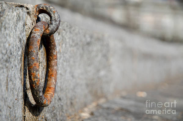 Rusty Art Print featuring the photograph Rusty Ring by Mats Silvan