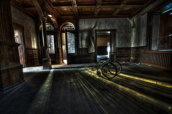 Abandon Art Print featuring the photograph The Home by Nathan Wright