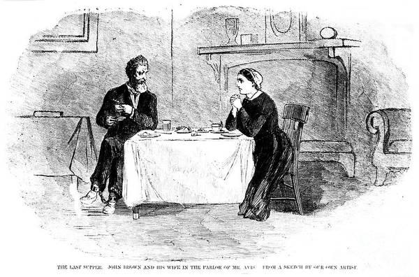 1859 Art Print featuring the photograph John Brown (1800-1859) by Granger
