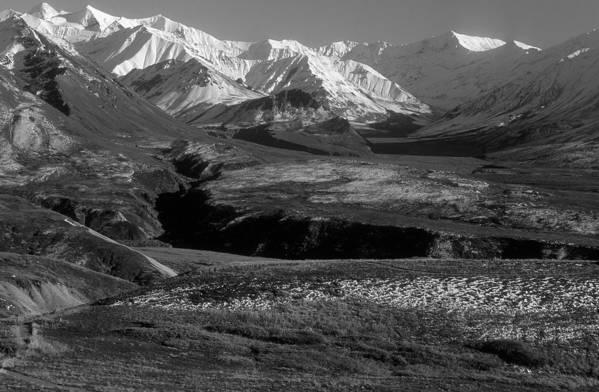 Alaska Art Print featuring the photograph Alaska Valley by Sandra Bronstein