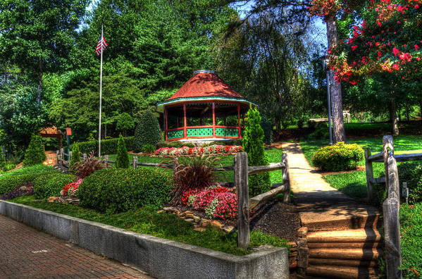 Helen Georgia Art Print featuring the photograph Beautiful Rest Stop by Greg and Chrystal Mimbs