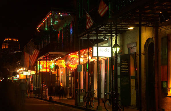 New Orleans Art Print featuring the photograph Bourbon Choices by Greg and Chrystal Mimbs