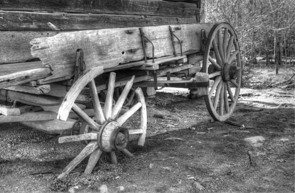 Cades Cove Art Print featuring the photograph Broken Past by Greg and Chrystal Mimbs