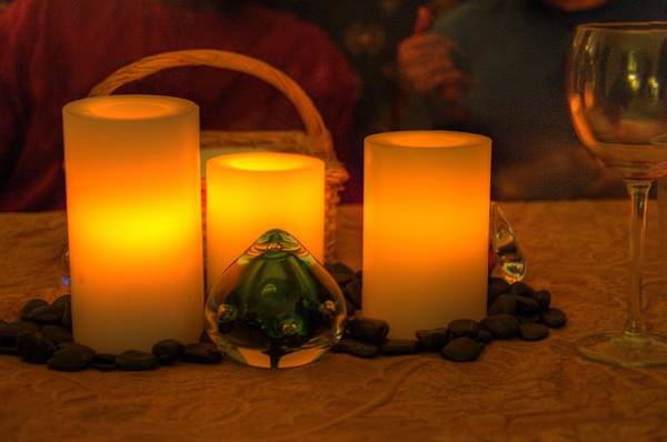 Candles Art Print featuring the photograph Candles by Armando Perez
