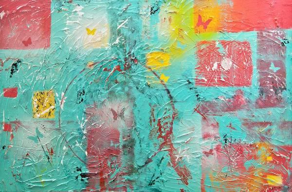 Mixed Media Art Print featuring the painting Circle Of Life by Wayne Potrafka