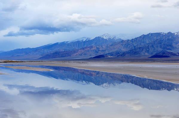 Basin Art Print featuring the photograph Cottonball Basin Death Valley by Dean Pennala