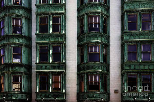 San Francisco Art Print featuring the photograph Downtown San Francisco by Bob Christopher