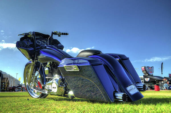 Bagger Print featuring the photograph DT4 by John Adams