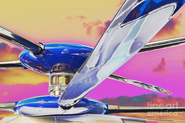 X2 Technology� Demonstrator Art Print featuring the photograph Experimenting With An Experimental by Lynda Dawson-Youngclaus
