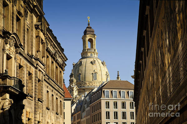 Architecture Art Print featuring the photograph Frauenkirche by Katja Zuske