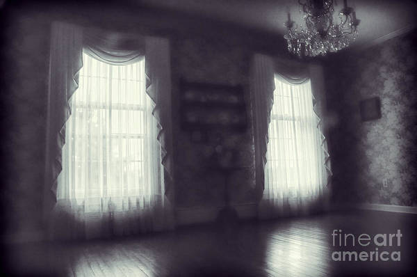Room Art Print featuring the photograph Ghosts by HD Connelly