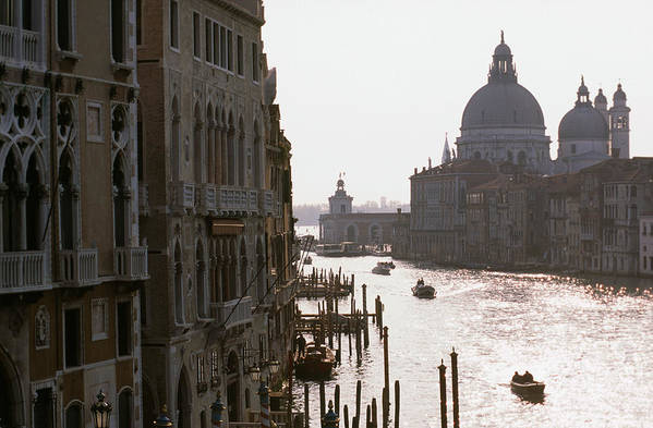 Venice Art Print featuring the photograph Grand Canal Venice 01 by Carlos Diaz
