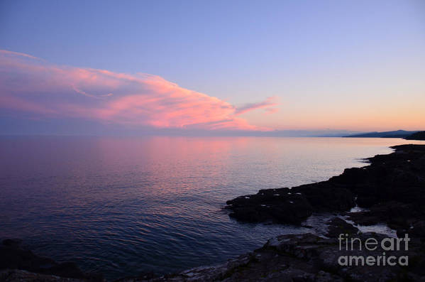 ©anna Martineau Merritt Art Print featuring the photograph Grand Sunset II by Whispering Feather Gallery