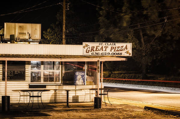 Great Art Print featuring the photograph Great Pizza by James Bull