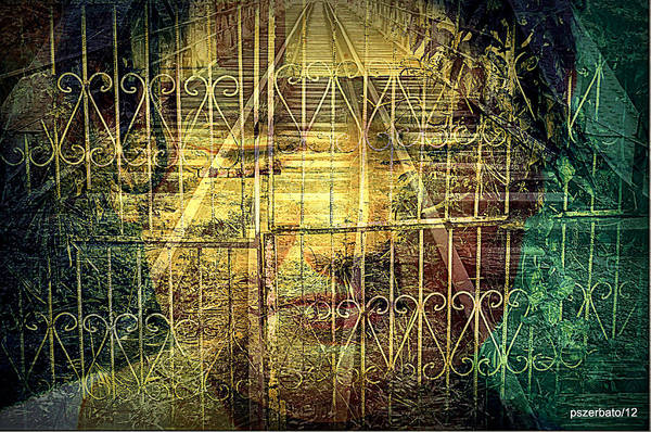 Fears Art Print featuring the digital art Insurmountable Barriers And Illusory Of Our Minds by Paulo Zerbato