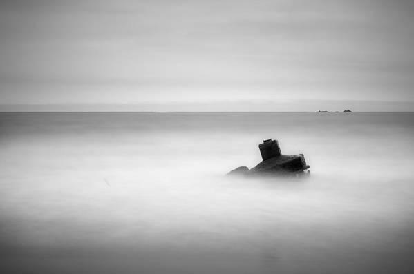 Horizontal Art Print featuring the photograph Koizumi Coast by HiromInnovation-Photograph