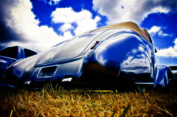 Ford Art Print featuring the photograph Low Ford Roadster by Phil 'motography' Clark