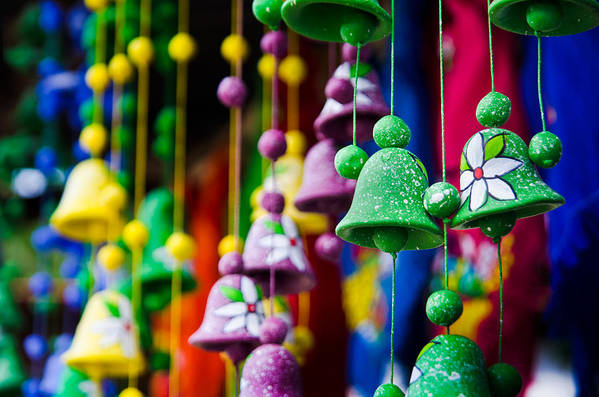 Celebration Art Print featuring the photograph Nicaraguan Bells by William Shevchuk