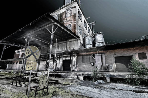 Art Print featuring the photograph Old Train Station by Calvin Smith
