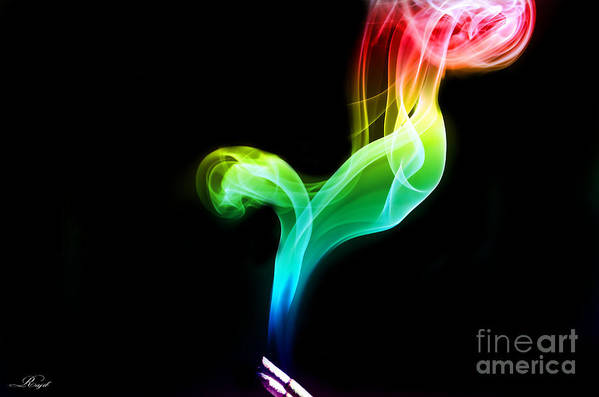 Art Print featuring the photograph Smoky by Sheikh Siddiquee