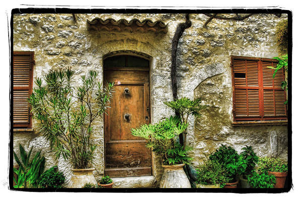 Art Art Print featuring the pyrography South Of France 1 by Mauro Celotti