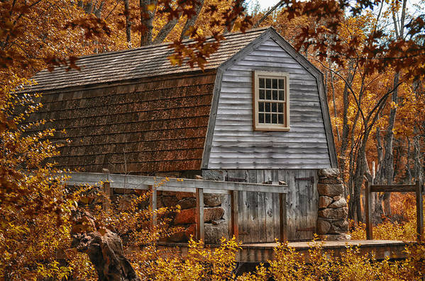 Boat Art Print featuring the photograph The Boathouse At The Manse by Tricia Marchlik