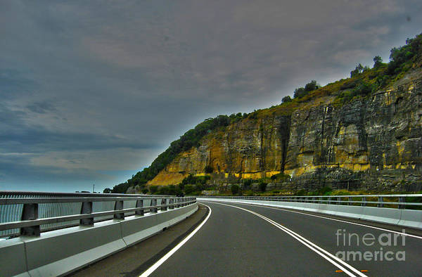 Bridge Photographs Art Print featuring the photograph The Road Ahead by Joanne Kocwin