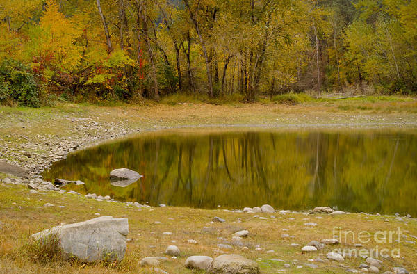 Idaho Art Print featuring the photograph Tunnel Pond by Idaho Scenic Images Linda Lantzy