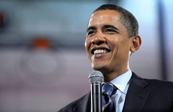 Malvern - Barack Obama U.s. Presidential Campaign Trail Art Print featuring the photograph U.s. Democratic Presidential Candidate by Everett