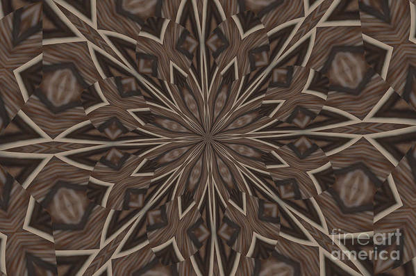 Kaleidoscope Art Print featuring the photograph Very Difference by Donna Brown