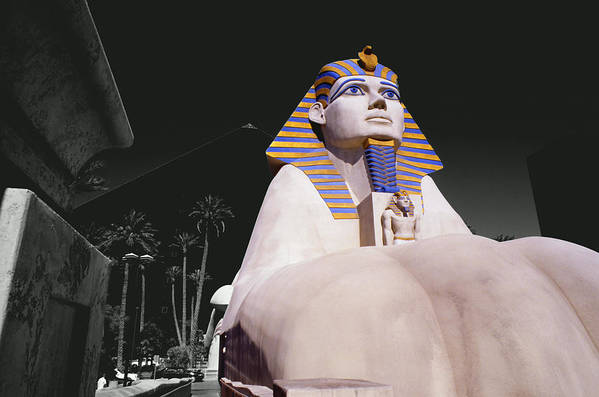 Photography Art Print featuring the photograph Luxor Sphynx by Tom Fant