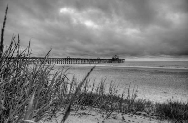 Folly Beach Art Print featuring the photograph Folly Beach Pier by Dustin K Ryan