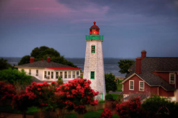 Old Point Comfort Lighthouse Art Print featuring the photograph Old Point Comfort Lighthouse by Williams-Cairns Photography LLC