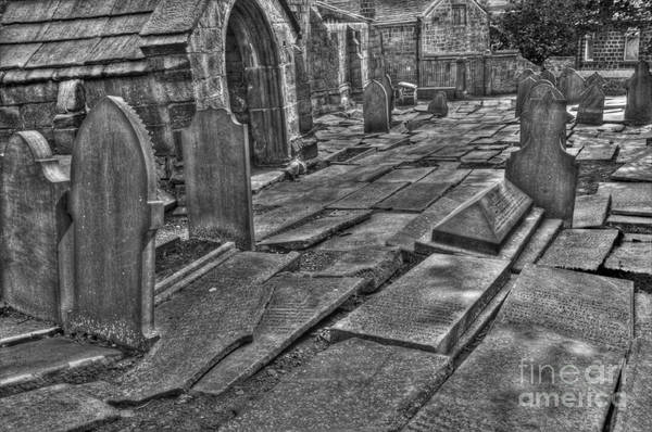 Heptonstall Art Print featuring the photograph Agro Mortuorum Duo by John Ellison
