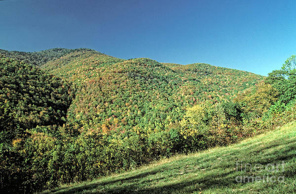 Mountains Art Print featuring the photograph Blue Ridge Mountains by Doug Berry