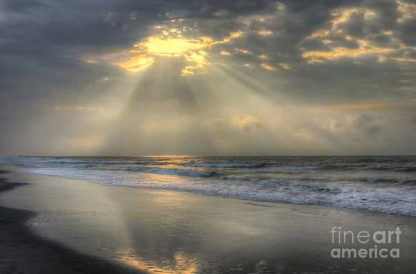 Sunrise Art Print featuring the photograph Carpe Diem by Jeff Breiman