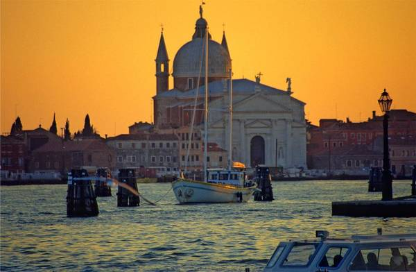 Venice Print featuring the photograph Church Of The Redentore In Venice by Michael Henderson