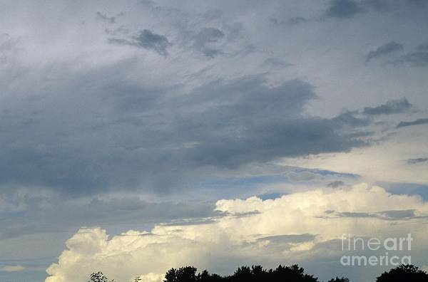 Storm Clouds Art Print featuring the photograph Cloud Cover by Erin Paul Donovan