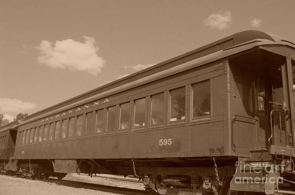 Trains Art Print featuring the photograph Coach by Charles Robinson