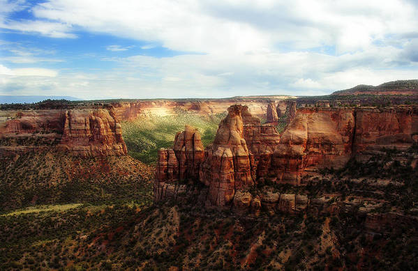 Americana Art Print featuring the photograph Colorado National Monument by Marilyn Hunt