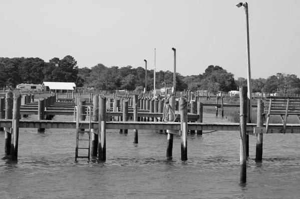 Docks Art Print featuring the photograph Docks by Gregory Smith