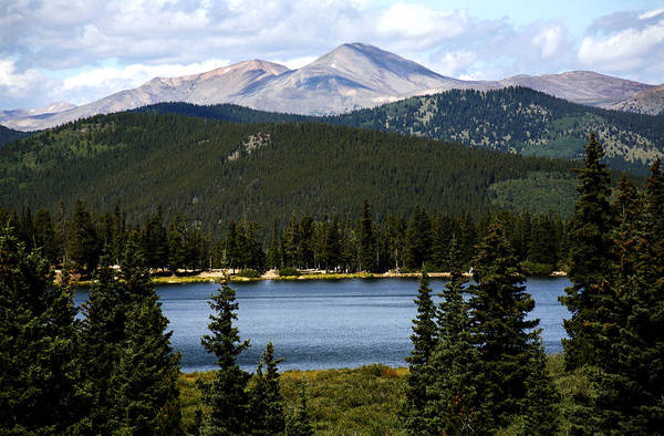 Colorado Art Print featuring the photograph Echo Lake Colorado by Marilyn Hunt