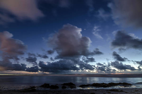 Clouds Art Print featuring the photograph Endless Horizons by Margaret Pitcher