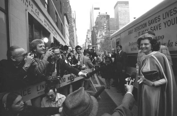 History Print featuring the photograph First Lady Betty Ford Became An by Everett